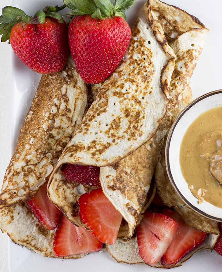 Low Carb Cottage Cheese Pancakes - With these low-carb, high protein cottage cheese pancakes, you can enjoy America's favorite breakfast without the guilty conscience.