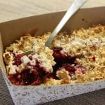 Protein Berry Crumble