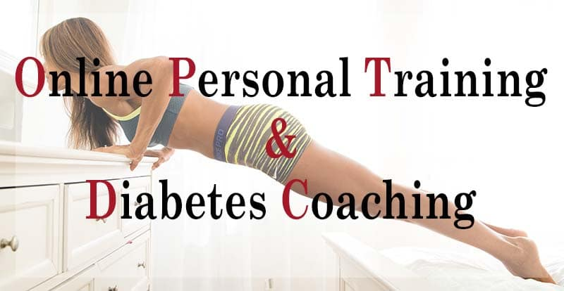 Online Personal Training and Diabetes Coaching