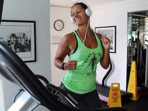 How I make cardio fun by incorporating dance moves into my treadmill routine