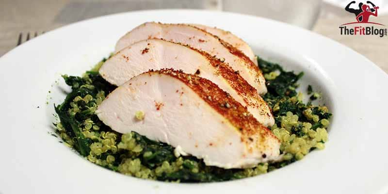 If you cook your chicken breast like this, you will never again have to chew your way through a dry and tasteless chicken breast to get all the good protein you want. Give it a try!