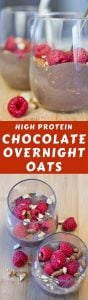 This is a delicious overnight oats recipe! High Protein Overnight Oats with Almond Milk is high in protein, sugar-free, and full of flavor. #overnightoatsrecipe
