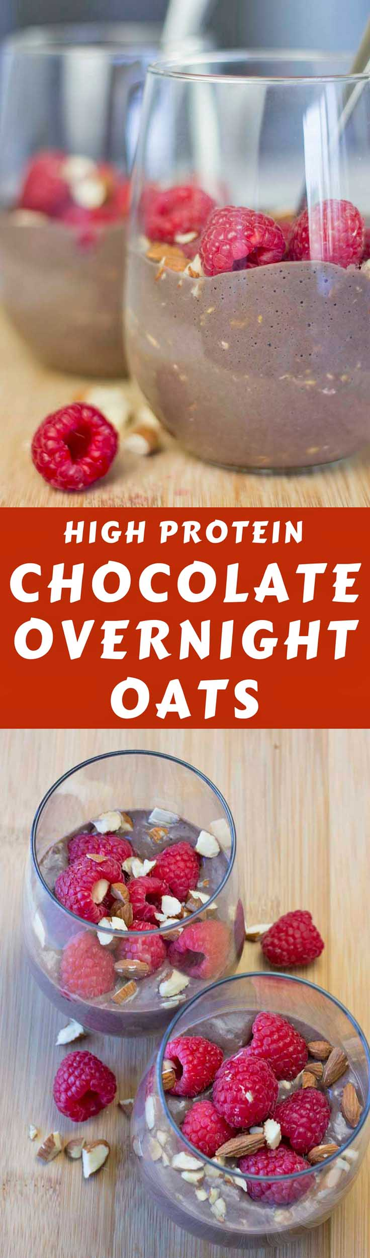 This is a delicious overnight oats recipe! High Protein Overnight Oats with Almond Milk is high in protein, sugar-free, and full of flavor. #overnightoatsrecipe #breakfast