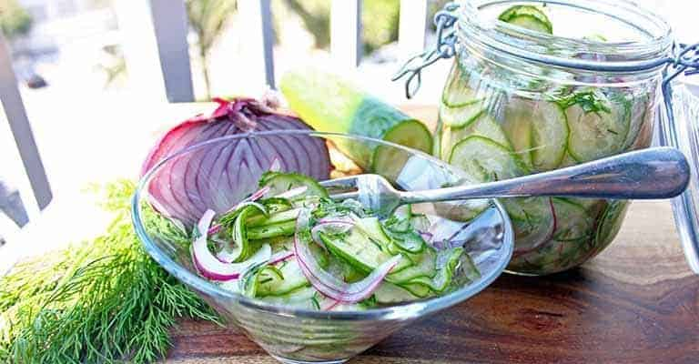 Pickled Cucumber Salad