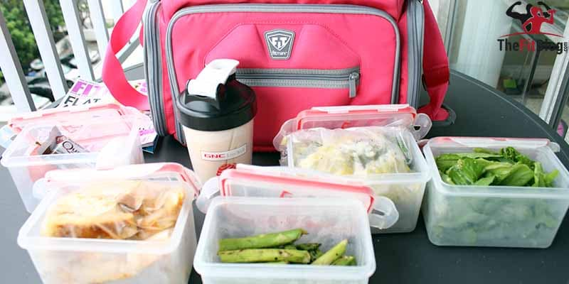 You can bring almost any kind of food on a plane, as long as you package it carefully and don't try to take it through customs at your destination. This is how we do it.