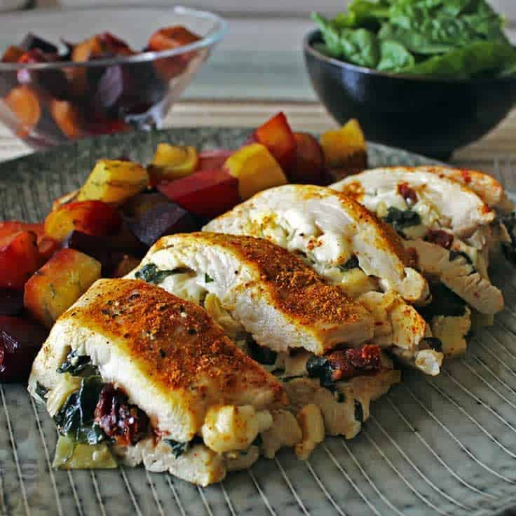 Healthy Stuffed Chicken Breast Recipe Diabetes Strong