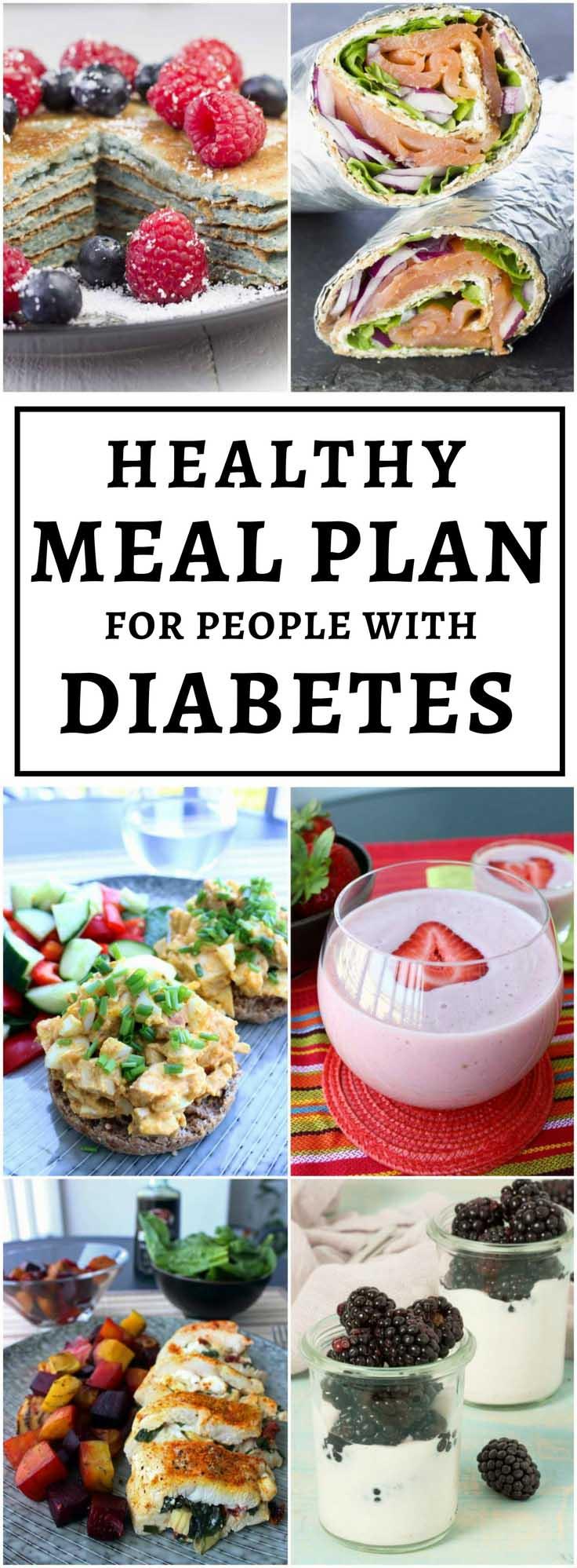 Outsmart Diabetes 1-Week Meal Plan