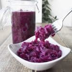 Braised Red Cabbage is one of the most traditional Danish Christmas foods. It has a very unique sweet and sour, almost tangy, taste that I absolutely love. This recipe is super easy │ TheFitBlog.com