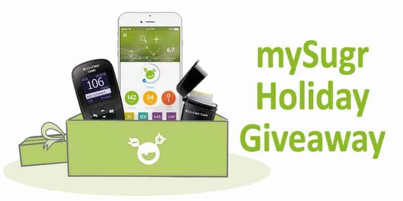 mySugr Holiday Giveaway