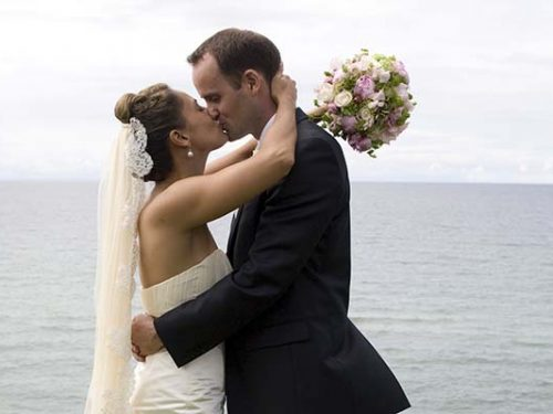 Wedding picture of Tobias & Christel