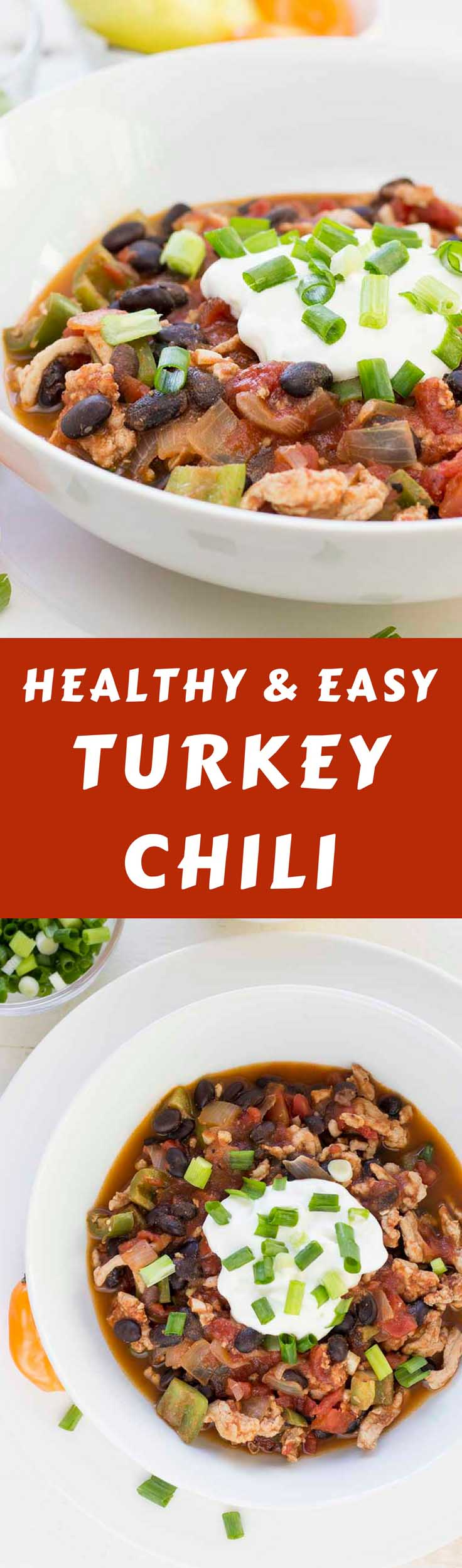 This Simple Turkey Chili recipe should be your dinner tonight! It's high in protein and relatively low in carbs and fat, making it the perfect healthy turkey chili recipe. #turkeychilirecipe #diabeticchili #healthyeating #healthyrecipes #diabetesdiet #diabetesrecipe #diabeticdiet #diabeticfood #diabeticrecipe #diabeticfriendly #lowcarb #lowcarbdiet #lowcarbrecipes