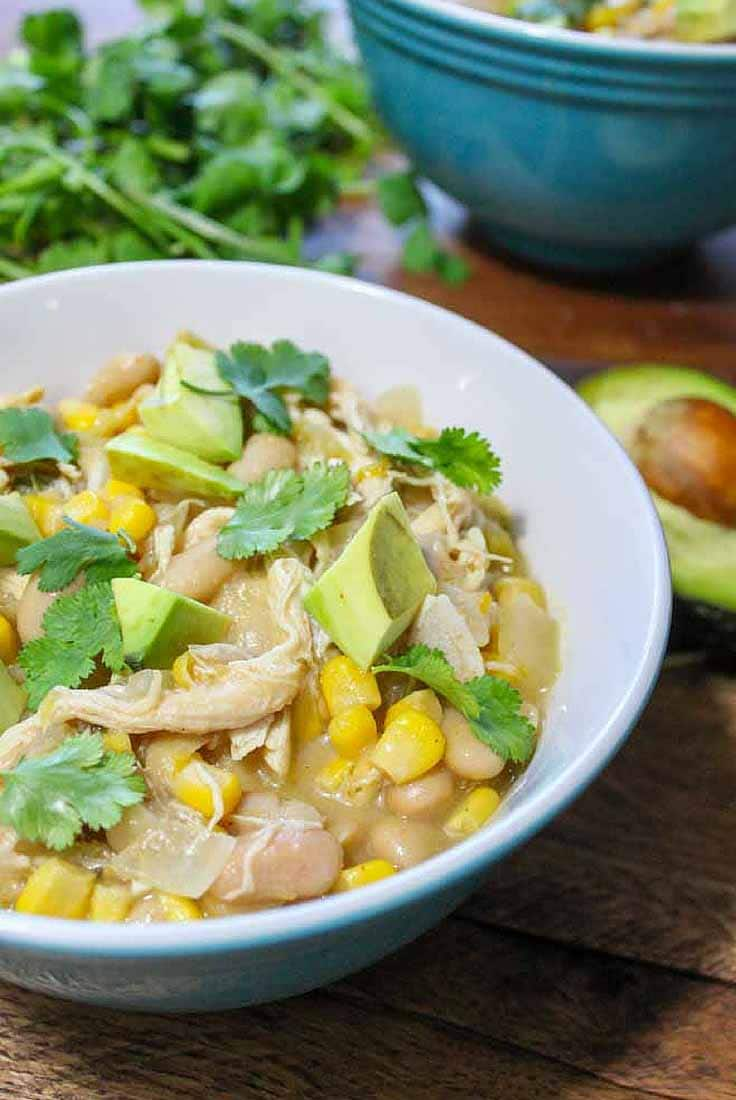 Slow Cooker White Chicken Chili Diabetes Strong
