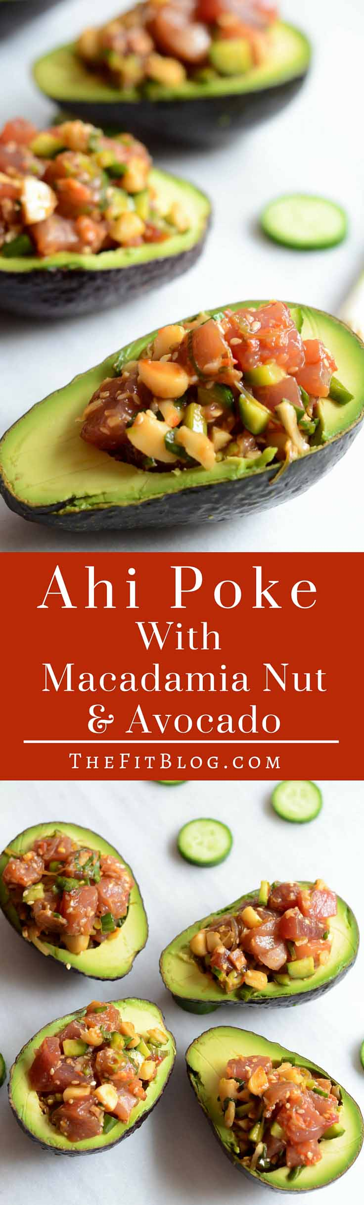 Ahi Poke Salad with Macadamia Nuts – This is the perfect high protein, quick, healthy fish recipe that will leave you feeling full yet refreshed every time you eat it.
