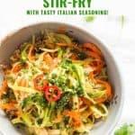 Vegetable Noodle Stir-Fry