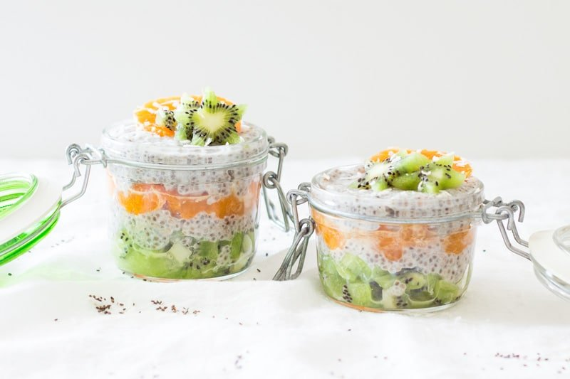 Coconut Chia Pudding - This easy, healthy and delicious pudding satisfies my cravings for a sweet desert while still being diabetes friendly.