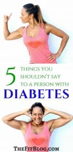 5 things you shouldn't say to a person with diabetes
