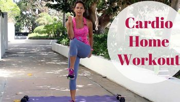 The first cardio workout in the Fit With Diabetes Challenge