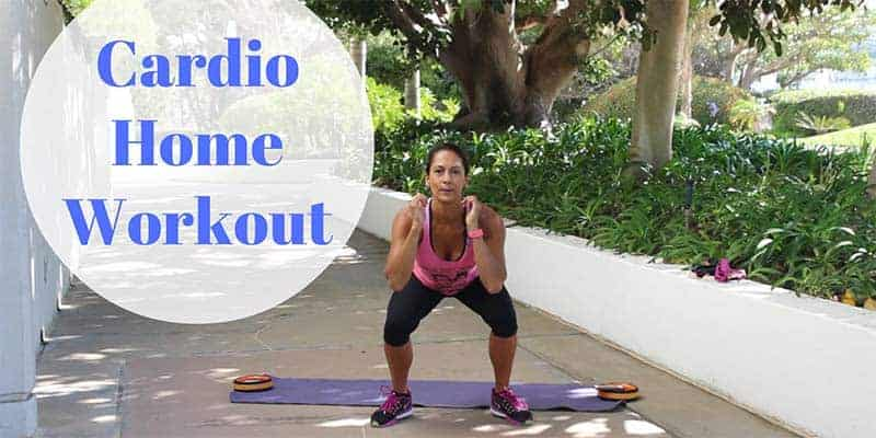 Cardio home workout for the Fit With Diabetes Challenge