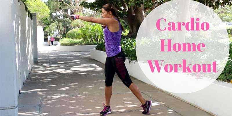 Home Cardio Workout for the Fit With Diabetes challenge