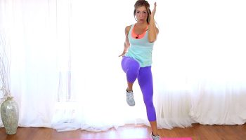 Home cardio workout by Liz Germain from Super Sister Fitness