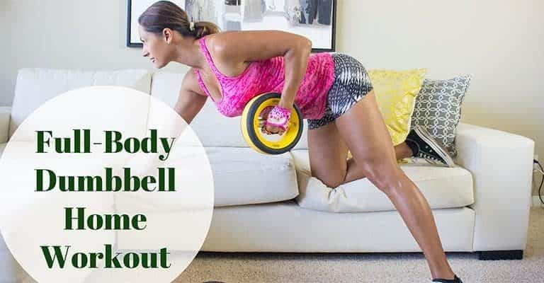 Fit With Diabetes home dumbbell workout