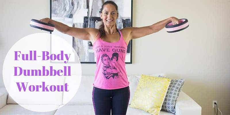 Full-body dumbbell workout you can do at home