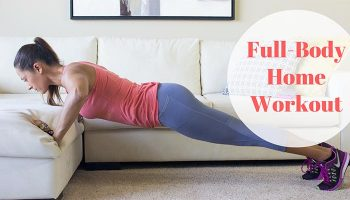 Full-Body Home Workout using Dumbbells and Body Weight