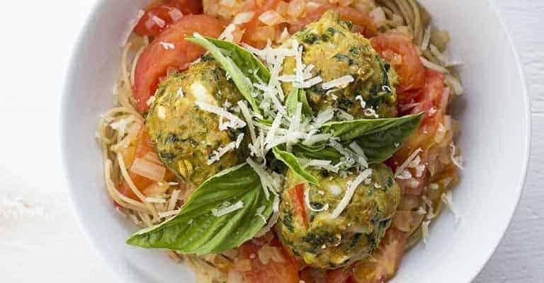Healthy Turkey Meatballs (Without Breadcrumbs)