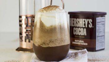 Iced Chocolate Coffee Protein Shake
