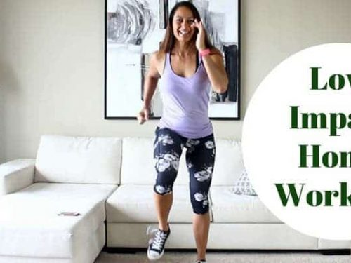 Low impact cardio workout