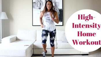 High-Intensity Home Workout