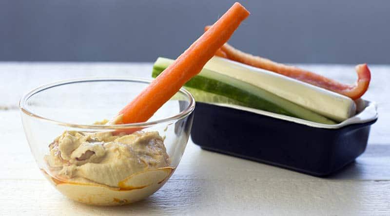 Hummus & veggies