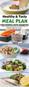 Healthy & Tasty Meal Plan for people with diabetes | high protein | low carb | sugar free | gluten free | diabetes friendly |