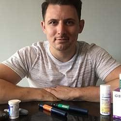 Dan Piper (The Healthy Diabetic) - Profile picture