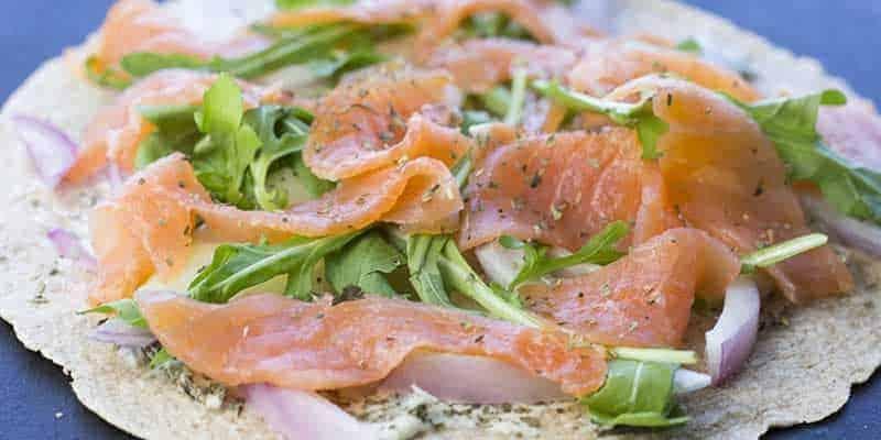 Smoked Salmon and Cream Cheese Wraps | TheFitBlog
