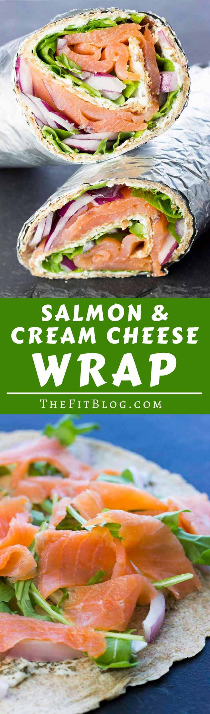 Smoked Salmon And Cream Cheese Wraps Diabetes Strong