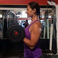 Barbell biceps curl