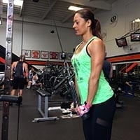 Triceps pulldowns