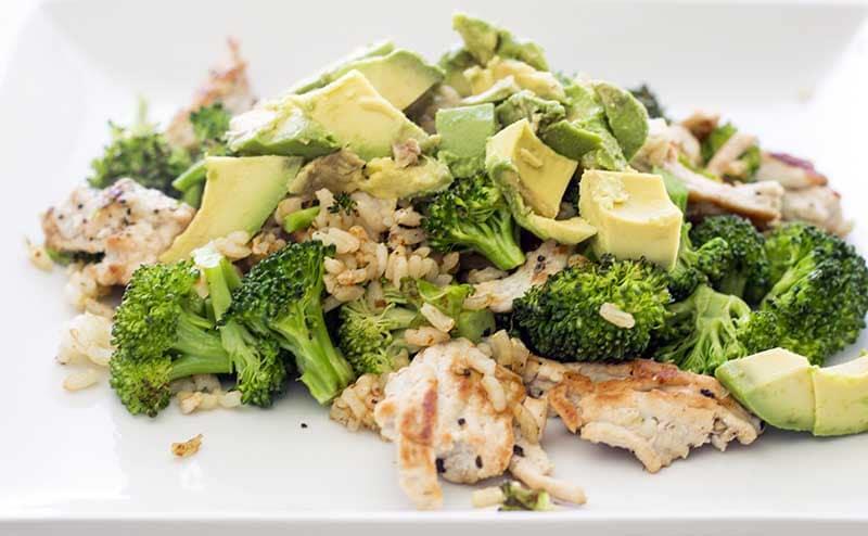 Turkey and veggie stir-fry