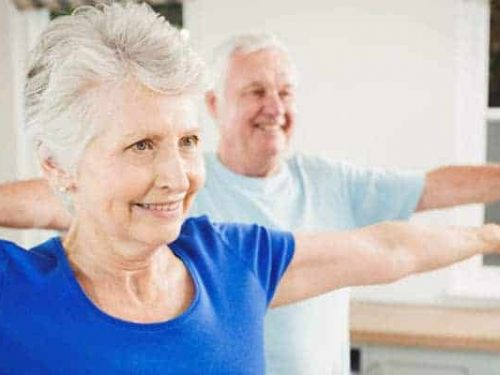 Exercise for elderly or people with reduced mobility