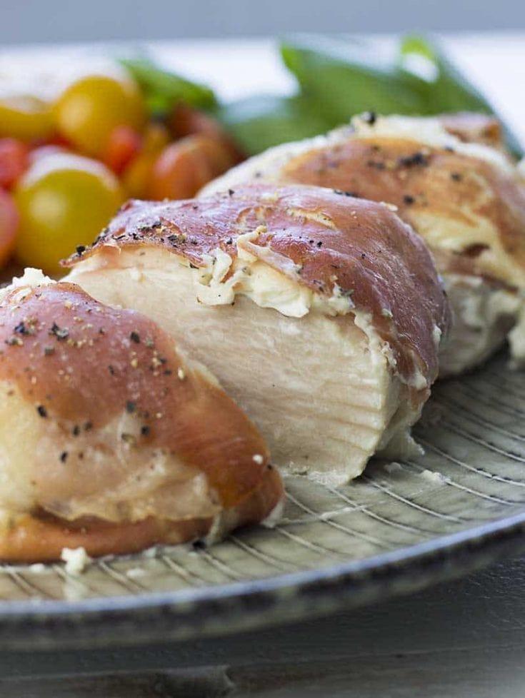 Prosciutto Wrapped Chicken Breast