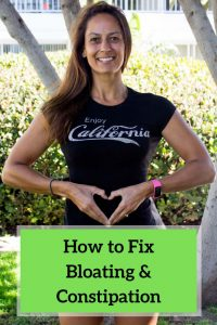 How to fix bloating and constipation.