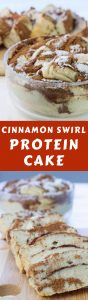 Cinnamon Swirl Protein Cake is a must-try! It's a high-protein breakfast that's sugar-free and tastes amazing. If you've been looking for a great protein powder recipe, you've found one!