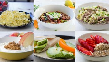 Healthy with diabetes meal plan 1