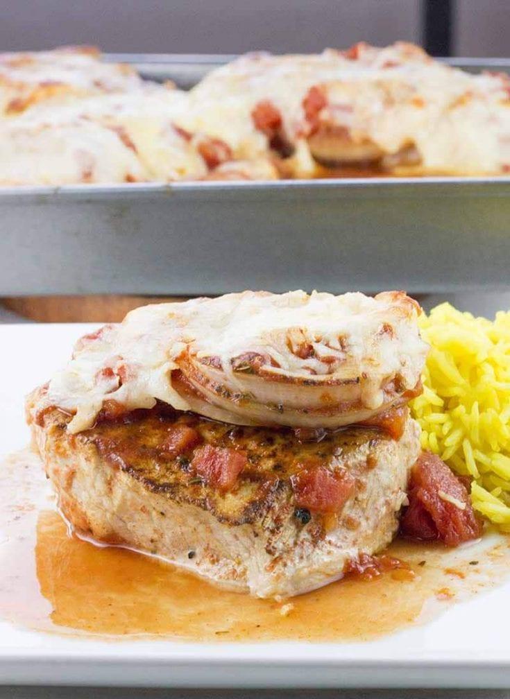Baked Pork Chops in Tomato Sauce