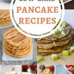 "Can people with diabetes eat pancakes? YES! Especially with these delicious low-carb, high-protein ""diabetic pancake"" recipes #diabetesdiet #diabetesrecipe #lowcarbpancakes #highproteinpancakes #diabeticpancakes #diabeticdiet #diabeticfood #diabeticrecipe #diabeticfriendly #lowcarb #lowcarbdiet #lowcarbrecipes #healthyeating #healthyrecipes"