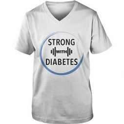 Strong with diabetes (blue circle - black text)