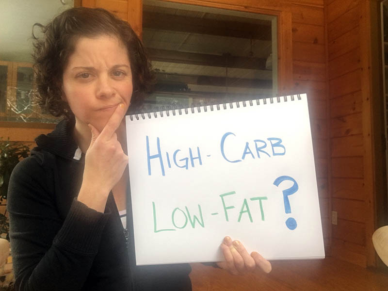 My experiment with a high-carb low-fat diet