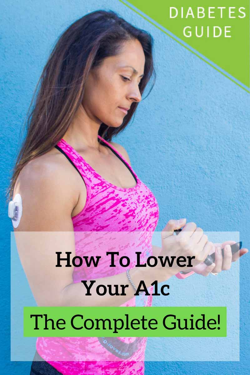 Learn what a good A1c target is, how to lower your A1c, and how quickly you can lower your A1c safely from this comprehensive but very user-friendly guide. #diabetes #type1diabetes #insulin #diabetic #CGM #diabetes #bloodsugar #a1c