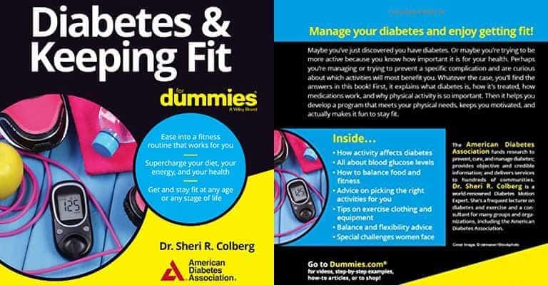Review: Diabetes & Keeping Fit for Dummies